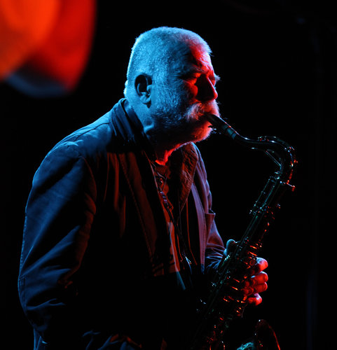 Peter Brötzmann, photo by Michelle V. Agins. Courtesy of The New York Times.